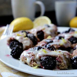 Blackberry Lemon Drop Biscuits