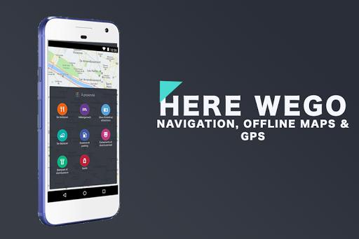 Here Offline We Go Maps & GPS 1.0 screenshots 1