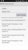 Screenshot of Jaipur Bus Routes & More