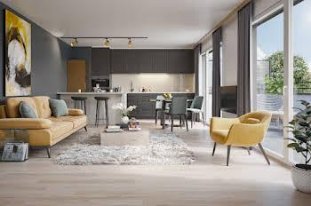 Appartement 2 pièces 47,52 m2