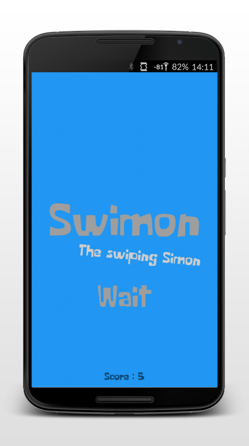 Swimon- screenshot