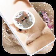 Kitten Clock Live Wallpaper