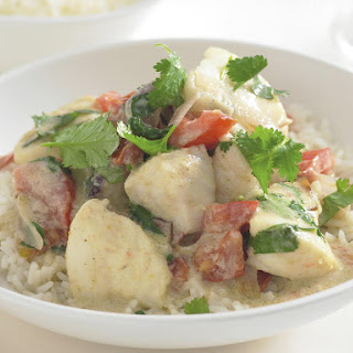 Green Curry with Fish.