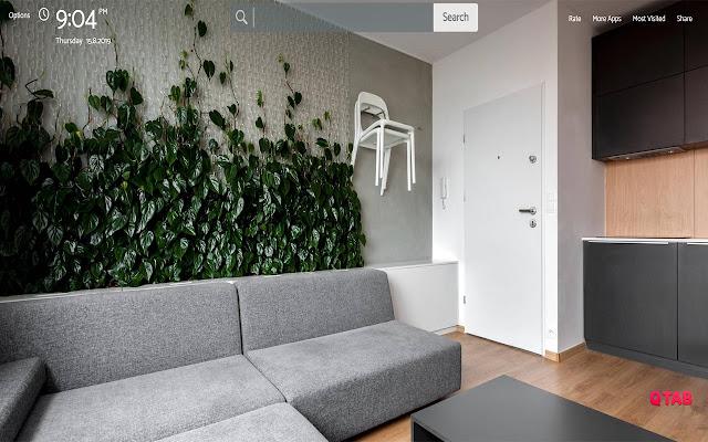 Houseplants Wallpapers Theme New Tab