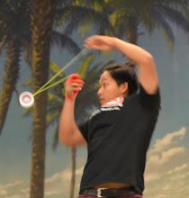 Photo: Sean Perez shows some awesome yo-yo skills