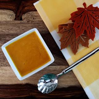 Vegan Fall Pumpkin Soup.