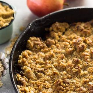 Easy Apple Butter Apple Crisp
