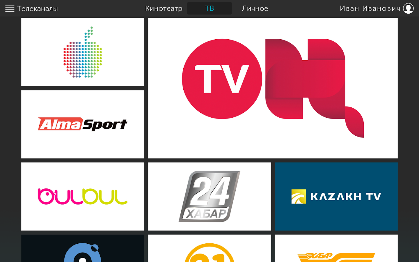 ALMA TV BOX- screenshot