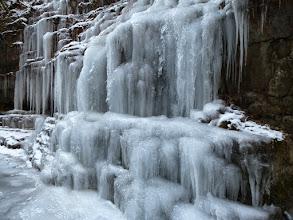 Photo: qui sotto è tutto ghiacciato !