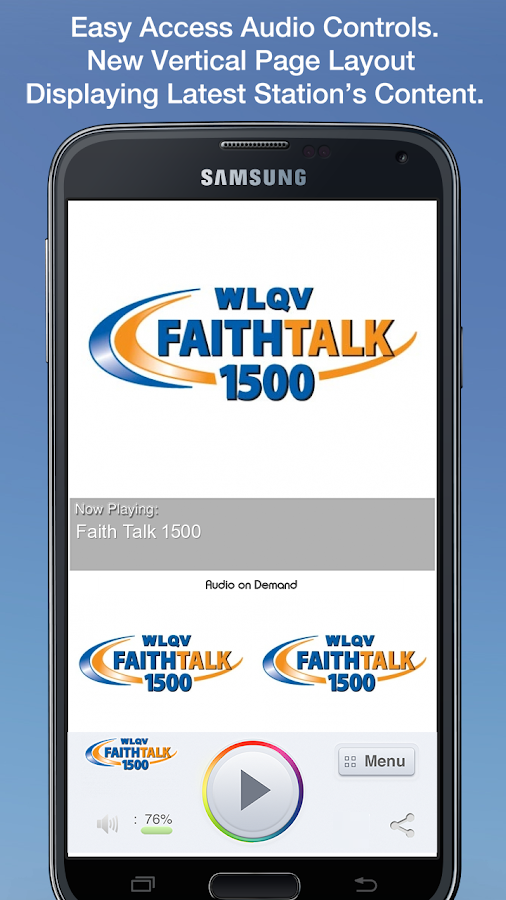 Faith Talk 1500 - screenshot