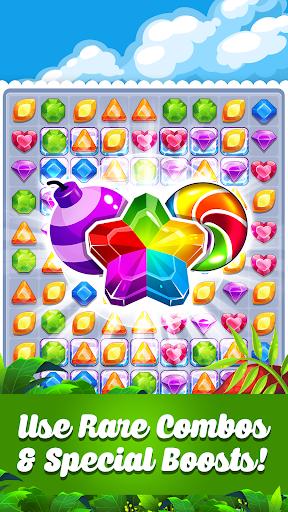 Addictive Gem Match 3 - Free Games With Bonuses 5.3.5 screenshots 1