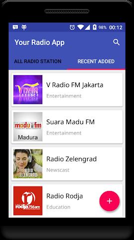 android Your Radio App Demo Screenshot 2