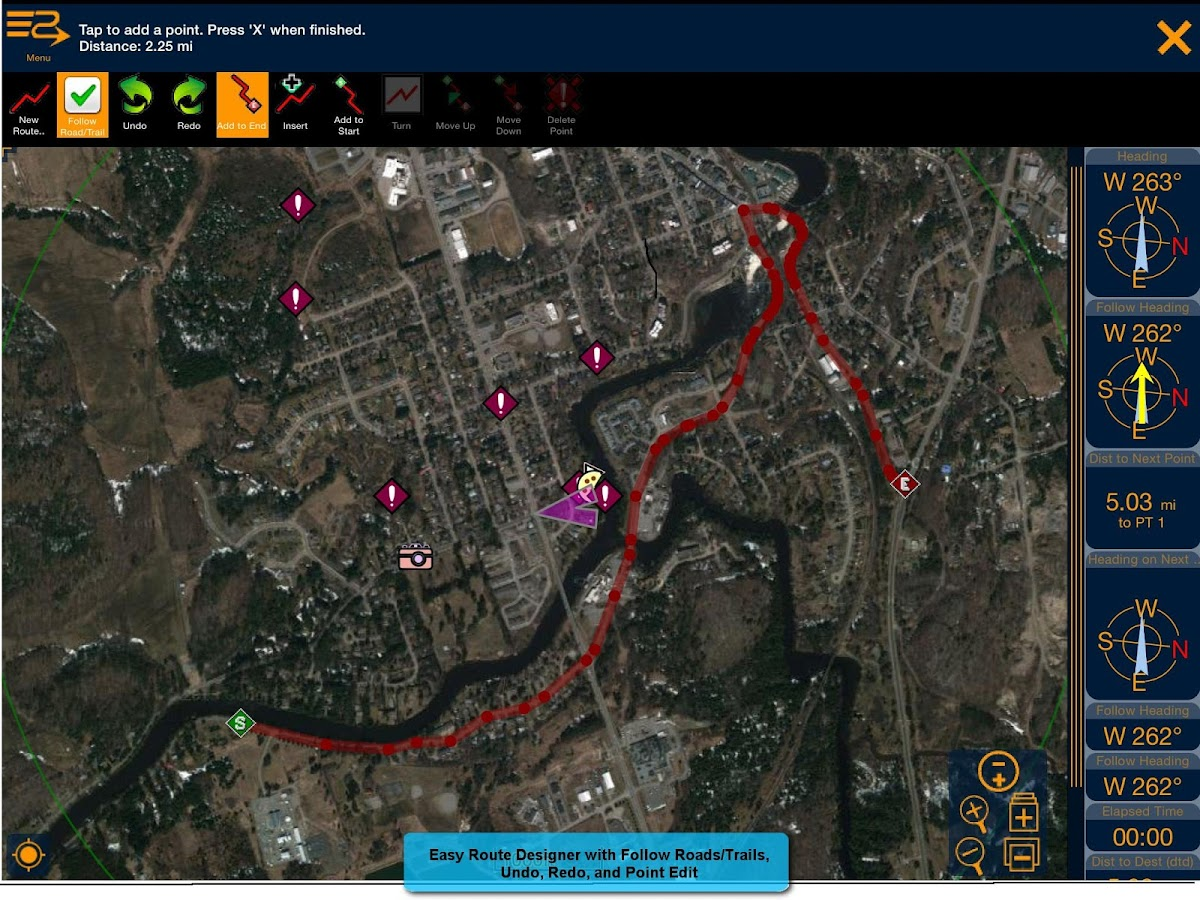 PathAway Express - Outdoor GPS- screenshot
