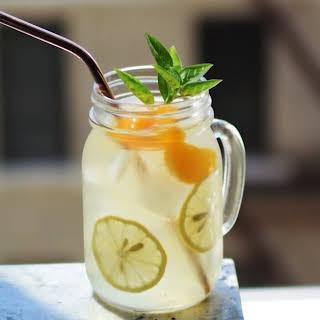 Mandarin Gin Sparkler.