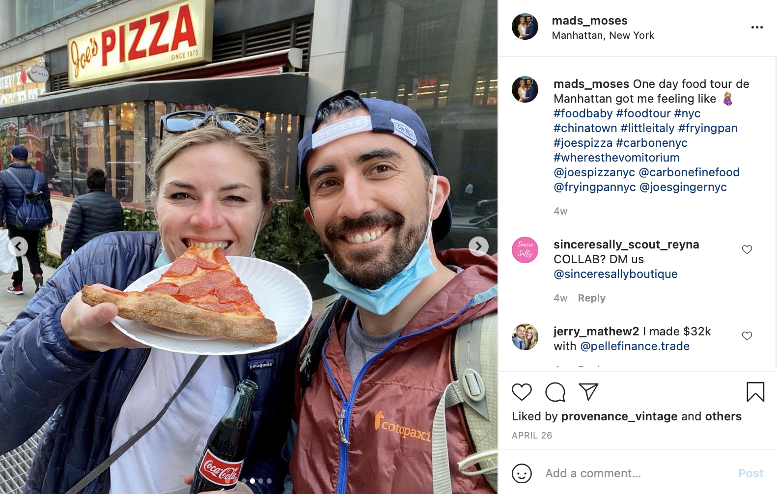 food tour newly-wed date idea