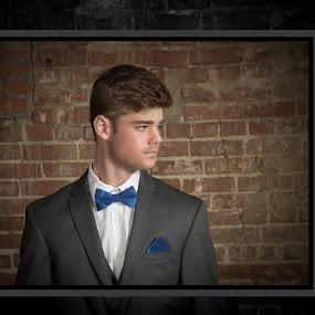 Fisher by Debbie Duggar - People Portraits of Men ( bow tie, tuxedo, men, prom, portraits,  )