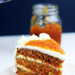 Ultimate Carrot Cake with Carrot Cake Jam Filling!.