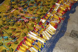 Photo: Odměny pro ty, kteří dojdou až k domečku maskota BŠŠ