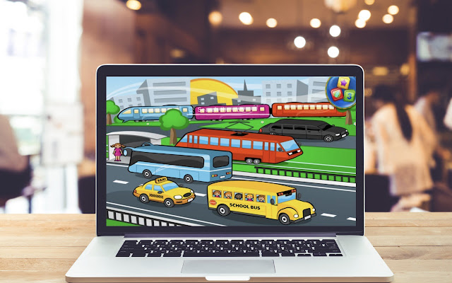 Train Taxi HD Wallpapers Game Theme