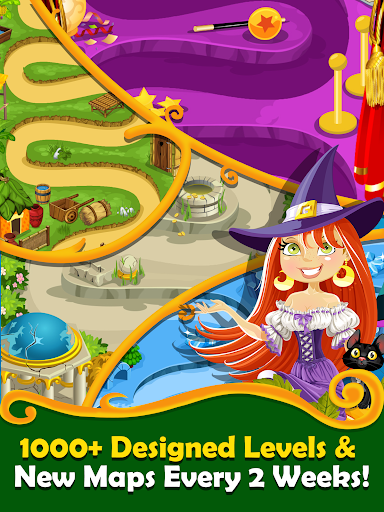 New Witchy Wizard 2019 Match 3 Games Free No Wifi screenshots 11