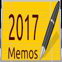 2017 Calendar Memos