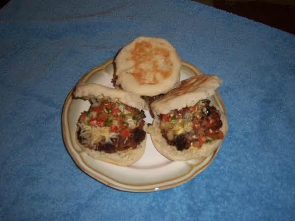 Spicey Black Bean Pico De Gallo Burger Recipe