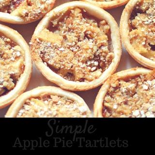 Apple Pie Tartlets.