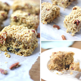 Cherry Oatmeal Streusel Bars