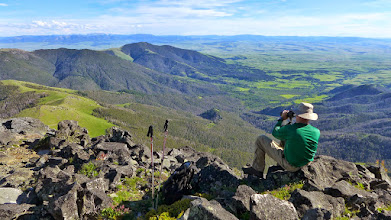 Photo: Enjoying the view from Highwood Baldy