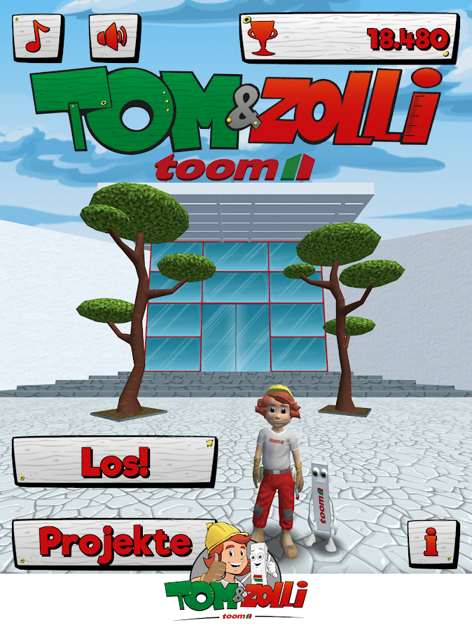 Tom & Zolli- screenshot