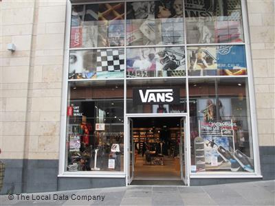 ab27caf41d Vans on Buchanan Street - Fashion Shops in City Centre