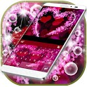 Pink Love Keyboard Theme icon