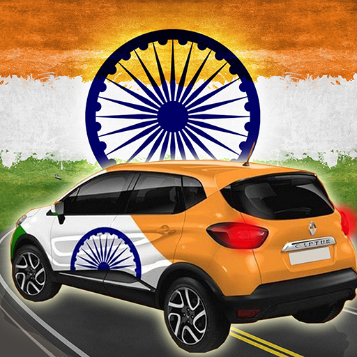 India Independence Day Car Race Game