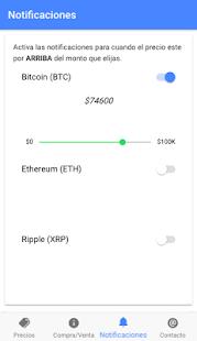 Bitso Notification - náhled