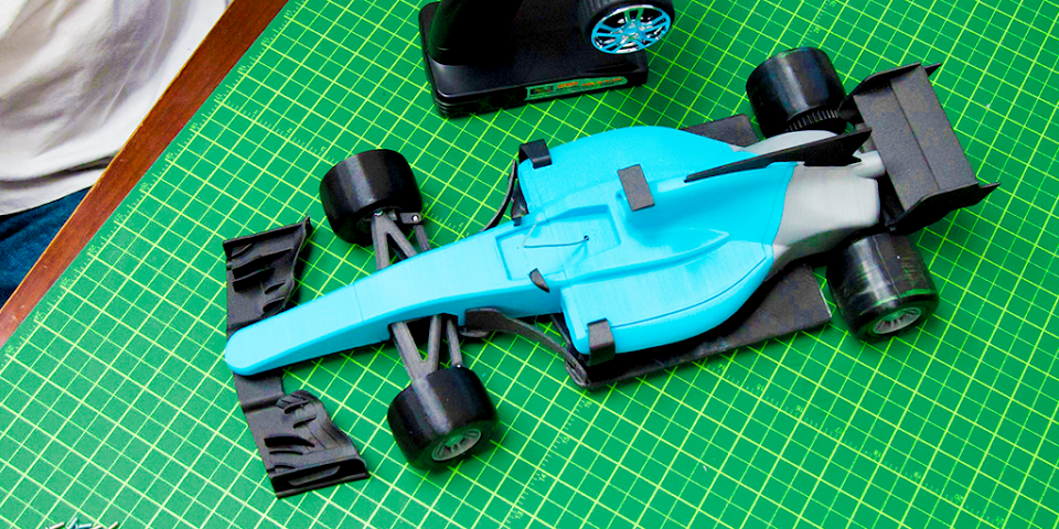 How To: 3D Print and Build an F1 RC Car