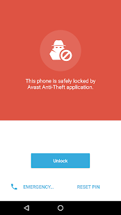 Avast Anti-Theft Screenshot