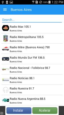 Argentina Radio - screenshot