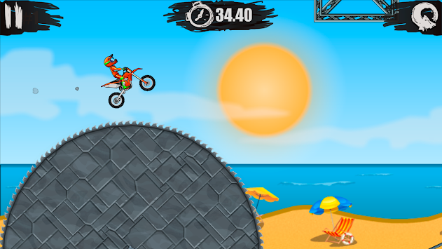 Moto Bike Race Игра X3M APK screenshot thumbnail 1
