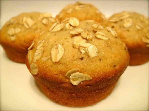 Banana-oat Muffins Recipe