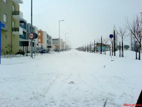 Photo: The Athens Olympic Village - Snows - Ιανουάριος 2006- Χιόνια 2