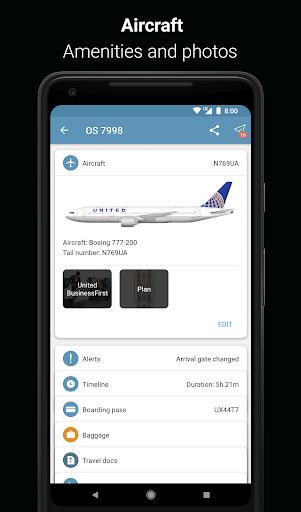 App in the Air - Travel planner & Flight tracker 4.0.9 screenshots 11