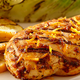 Zesty Citrus Brown Sugar Bourbon Chicken.