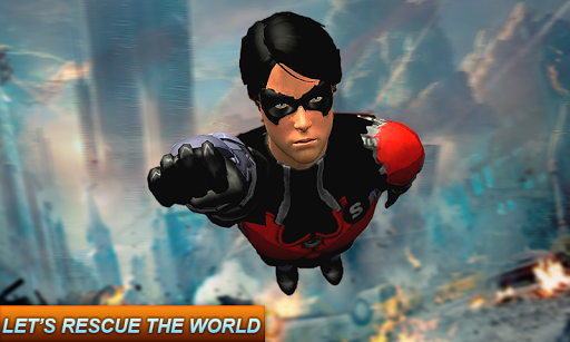 Superhero Games: Fighting Mafia War Rescue Mission  captures d'u00e9cran 1