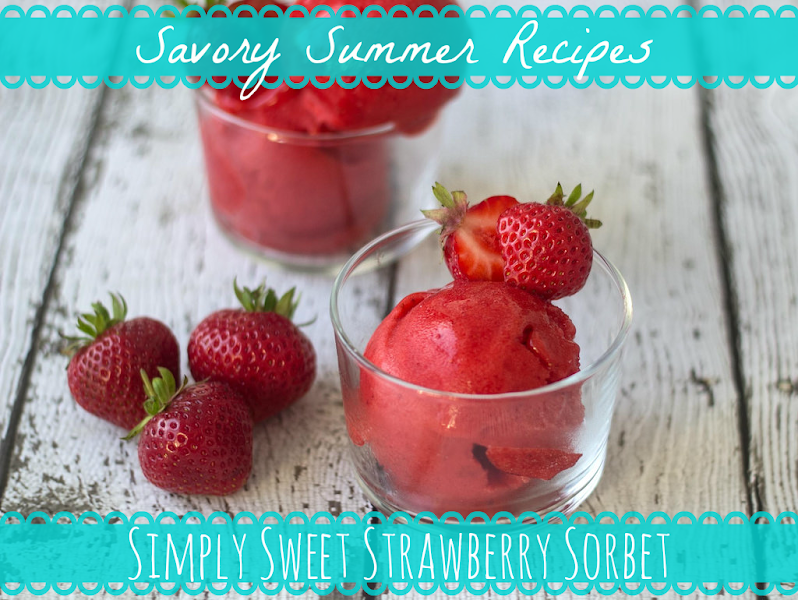 Photo: Looking for a light way to cool off and enjoy a tasty treat? Beat the heat with this week's Savory Summer Recipe: Simply Sweet Strawberry Sorbet!  Ingredients: - 1 pound frozen strawberries - 1 cup low-fat Greek yogurt - 1/2 teaspoon vanilla extract - 1/4 cup Better Stevia natural sweetener (bit.ly/1paKtLo) - Fresh strawberries and mint leaves  Steps: 1. Add 1 cup of the frozen strawberries to your food processor and pulse until finely chopped. Remove strawberries and add them to a large mixing bowl. 2. Add the remaining strawberries, yogurt, Better Stevia and vanilla to the processor and puree until it is nice and smooth. 3. Combine with the chopped strawberries in the large bowl and mix until everything is combined and even. 4. Cover the bowl and place in the freezer for about 1 hour, or until the sorbet is firm, but not hard. 5. Garnish with fresh strawberries and mint leaves. Serve with a smile!  It's as simple as that! Try it out for yourself and let us know what you think!  #pipingrock #recipes #summer #strawberries #sorbet #dessert #stevia