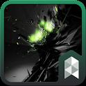 Black Big Bang Launcher theme icon