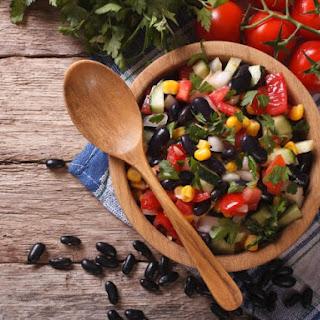 Black Bean and Cilantro Salad