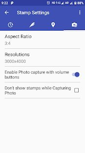 PhotoStamp Camera Free Screenshot