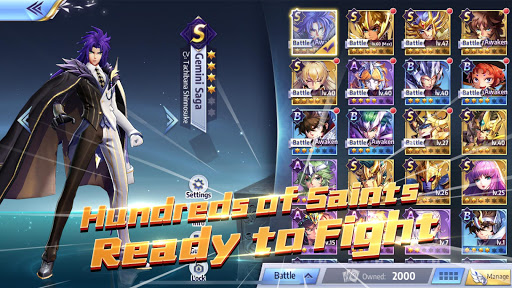 Saint Seiya Awakening: Knights of the Zodiac 1.6.42.1 screenshots hack proof 2