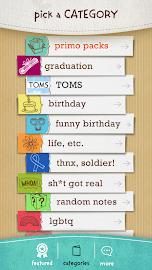 justWink Greeting Cards Screenshot 2