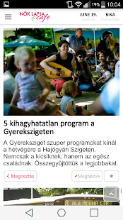 Nők Lapja Café- screenshot thumbnail